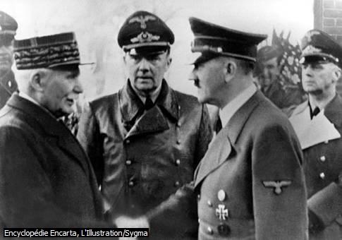 Pétain et Hitler