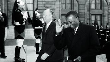 Sylvanus à l'Elysée en 1962